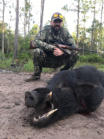 Tampa hog hunting
