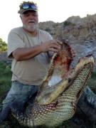 Trophy Alligator Hunting